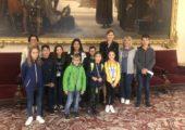 Visite de l'Assemblée Nationale par le Conseil Municipal des enfants de Valleiry