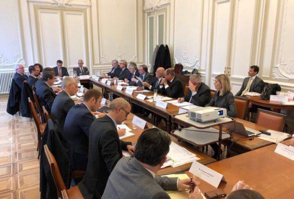 A Genève pour la réunion de l'Instance politique de coopération (IPC) du CRFG (Comité régional Franco-genevois).