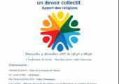 Colloque «Préserver le vivre ensemble : un devoir collectif – apport des religions»