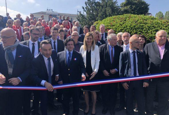 La Roche-sur-Foron / inauguration de la foire internationale avec le Portugal comme invité d'honneur