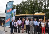 Inauguration de plusieurs projets importants portés par Annemasse Agglo en matière de mobilité et d'économie/insertion et soutenus par le conseil départemental de Haute-Savoie.