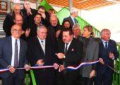 Inauguration de l'école «Au fil des Usses» à Frangy