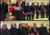 Inaugurations à Seyssel