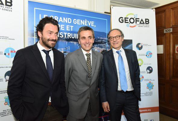 Lancement du Geofab du Grand Genève, projet franco-suisse soutenu par Interreg