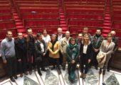 Les élus d'Usinens ont visité le Palais Bourbon