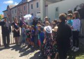 Viry / inauguration d'un parcours mémoriel en hommage à Marianne Cohn et à 3 résistants