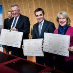 Signature du projet territoire au Globe de l'innovation  - Cern