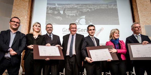 Signature du Projet de territoire du Grand Genève 2016-2030