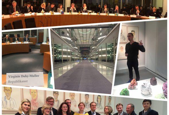 Déplacement de la commission à Berlin