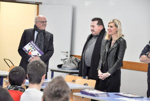 Remise des diplômes du Savoir Secourir au collège du Val des Usses de Frangy