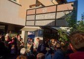 Inauguration de la boulangerie Saint-Ellier à Feigères