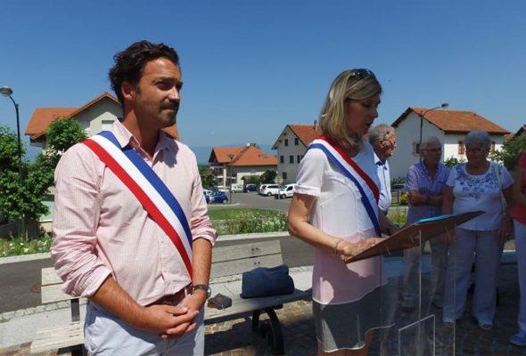 Commémoration de l'appel du 18 juin à Saint-Cergues