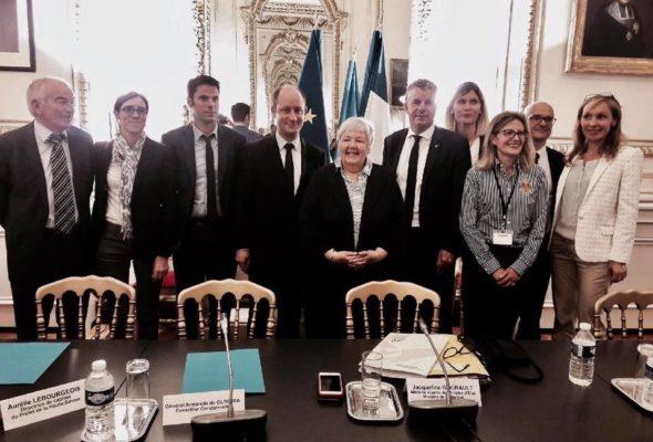 Rencontre avec Jacqueline Gourault, Ministre, au sujet des gens du voyage