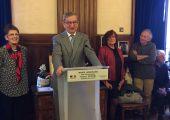 Cérémonie pour l'honorariat de maire de Robert Borrel