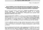 M. Saddier et V. Duby-Muller alertent le Ministre de la santé et des solidarités sur la situation des EHPAD