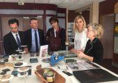 Visite d'une délégation de la région Auvergne-Rhône-Alpes sur la technopole d'Archamps