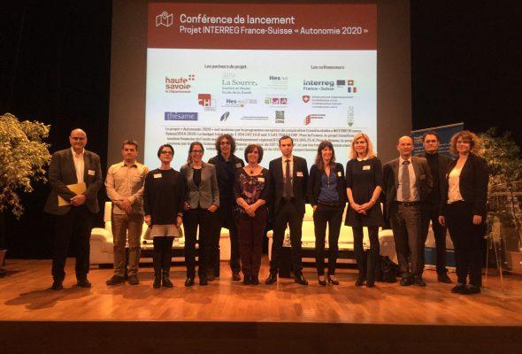 Lancement du Projet Interreg France-Suisse «Autonomie 2020» à Evian
