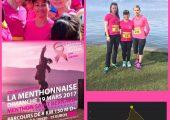 Participation à la Menthonnaise course au profit du dépistage du cancer du sein