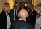 Visite de l'EHPAD du Val de l'Aire à Saint-Julien avec le Directeur de l'ARS