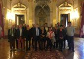 Visite des élus de Feigères à l'Assemblée nationale