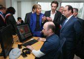 Déplacement du Président de la République en Haute-Savoie pour le MIFA