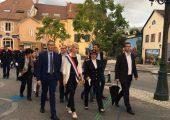 Célébration de la fête nationale à Saint-Julien-en-Genevois