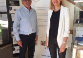Visite de l'EIPM à Archamps