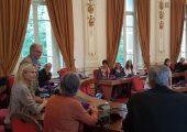 Visite du Conseil départemental par le comité de jumelage de Mössingen