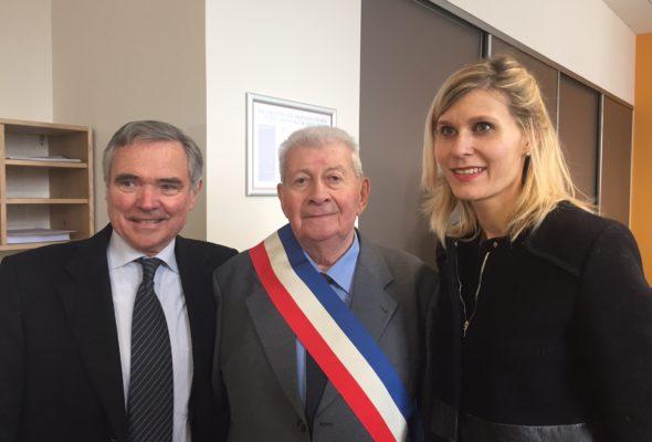 Décès de Roger Vionnet, ancien maire de Vanzy et ancien conseiller général du canton de Frangy
