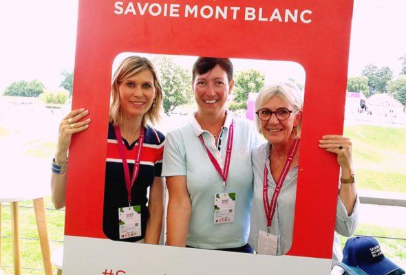 Evian / Une belle journée pour assister à «The Amundi Evian Championship» tournoi du circuit du tour féminin mondial de golf, lancé en 1994 par Antoine et Franck Riboud