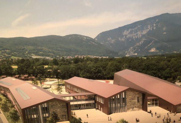 Présentation visuelle des futurs collèges du Vuache et de Vétraz-Monthoux