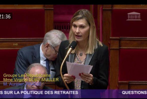 ⤵️ Retrouvez mon intervention mardi dans l'hémicycle sur la réforme des retraites