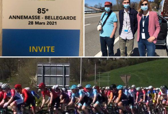 🚴🏽♂️ 85ème édition de la course cycliste Annemasse-Bellegarde