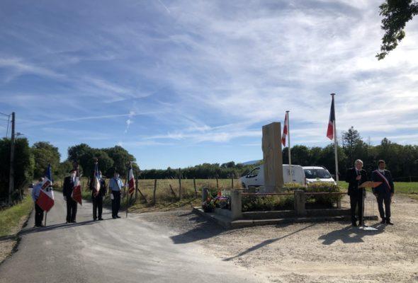 Saint-Cergues / cérémonie de la Libération