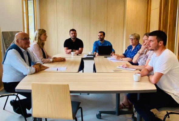 Vulbens / réunion de travail avec la nouvelle municipalité pour faire le point sur les dossiers