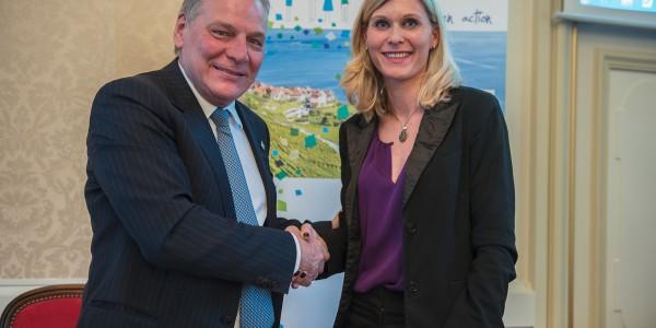 Le département de Haute-Savoie prend la Présidence du Conseil du Léman