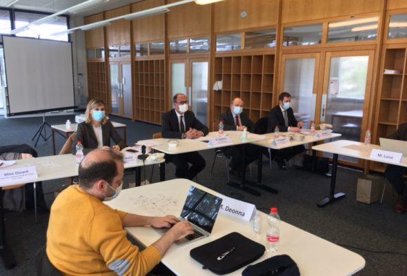 """Audition par la CACRI du Grand Conseil de la République et canton de Genève sur la Proposition de résolution R889 """"pour une politique transfrontalière ambitieuse : donner au Grand Genève les moyens de ses ambitions"""""""