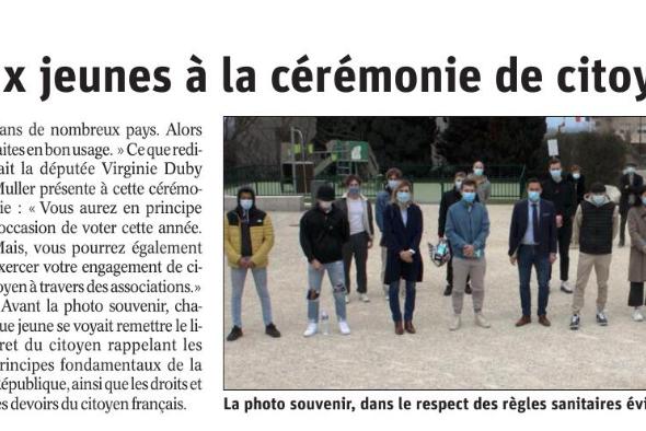 Saint-Cergues / cérémonie de citoyenneté