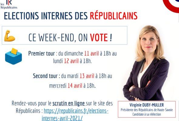 🗳 Elections internes Les Républicains ce week-end