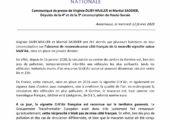 CP avec Martial Saddier sur la non-reconnaissance en France de la nouvelle vignette pollution suisse Stick'Air, mise en place en janvier 2020.