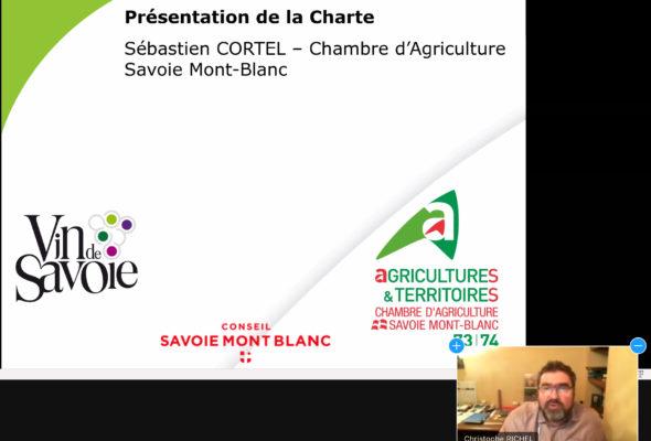 Réunion d'information auprès des élus des territoires des Vins de Savoie sur les pratiques viticoles