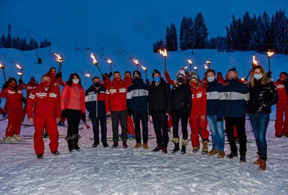 Les Gets / aux côtés des moniteurs de ski