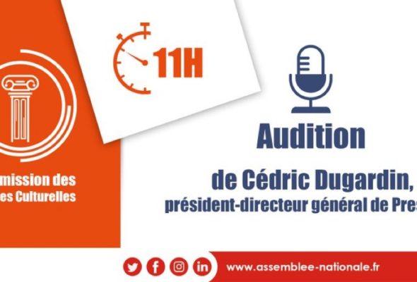 Audition du P-d-g de Presstalis par la commission des affaires culturelles et de l'éducation