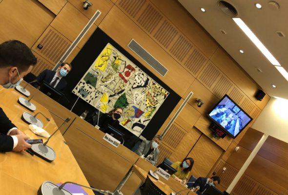 Examen en commission de plusieurs articles du projet de loi portant diverses dispositions d'adaptation au droit de l'Union européenne en matière économique et financière