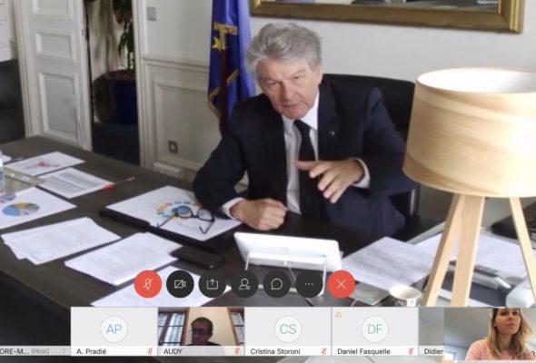 Audition de Thierry Breton, Commissaire européen
