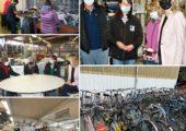 Cranves-Sales / Visite de l'association Emmaüs Annemasse qui gère une communauté et un chantier d'insertion