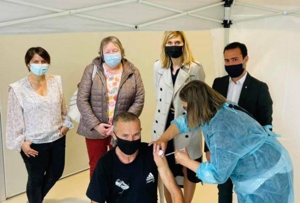 💉 Vulbens / intervention de l'unité mobile de vaccination du Département.