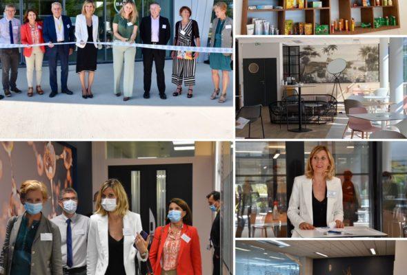 Gaillard / Inauguration des nouveaux locaux de la division Consumer Health de l'entreprise #Bayer