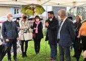 Lucinges / inauguration de l'archipel Butor