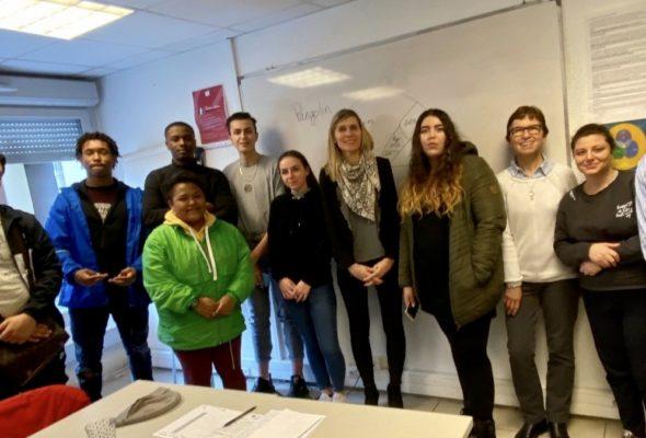 Rencontre avec les jeunes de la Mission Locale du Genevois